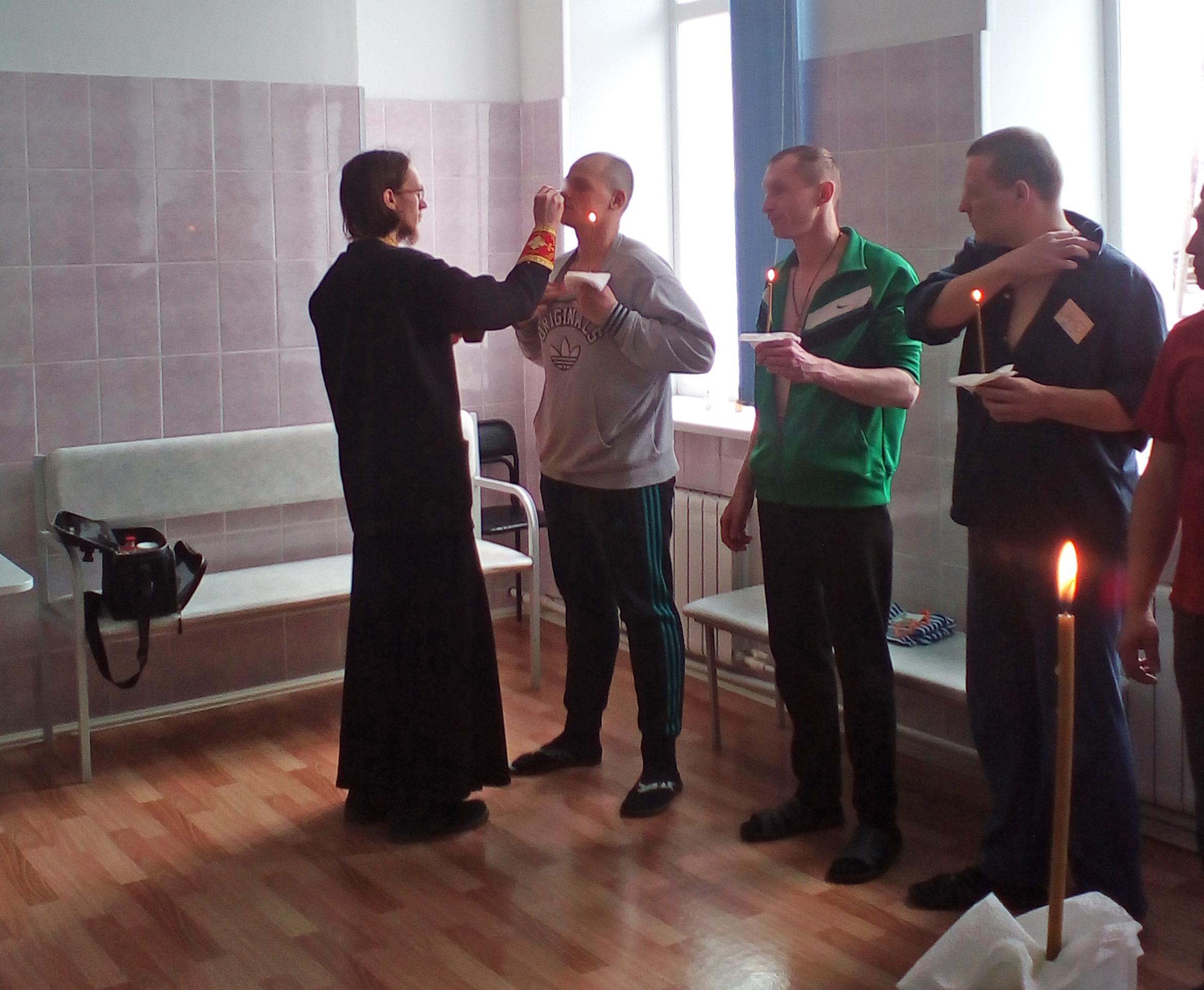 Реабилитационный центр «Урал без наркотиков» в Карпинске посетили представители местного духовенства