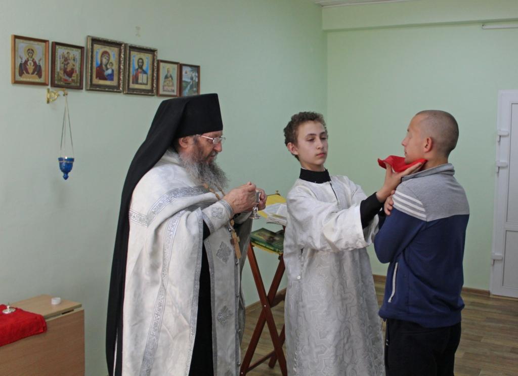 В «Урале без наркотиков» состоялось таинство крещения
