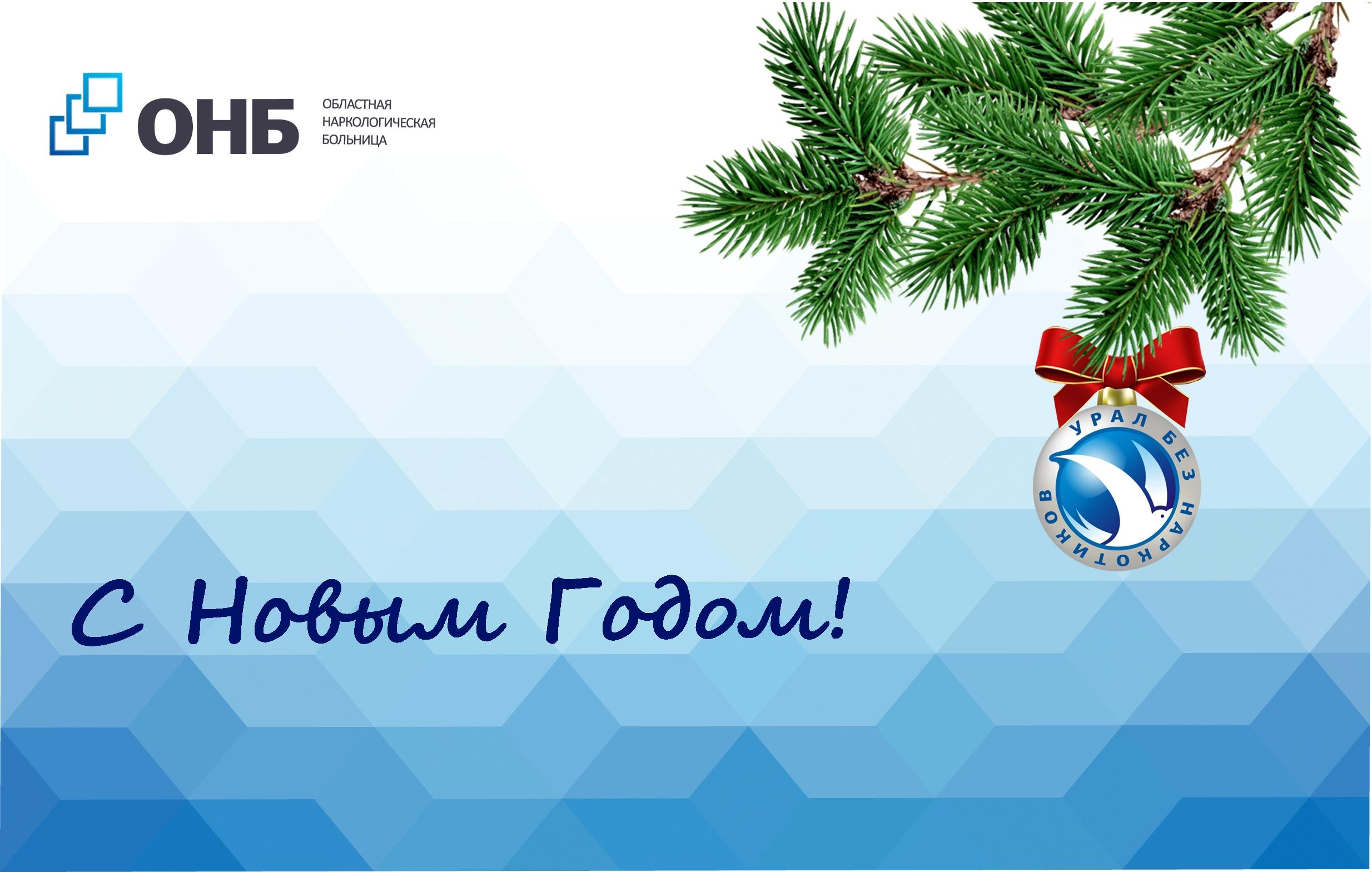 Новогоднее обращение главного врача ГАУЗ СО «Областная наркологическая больница» Антона Владимировича Поддубного