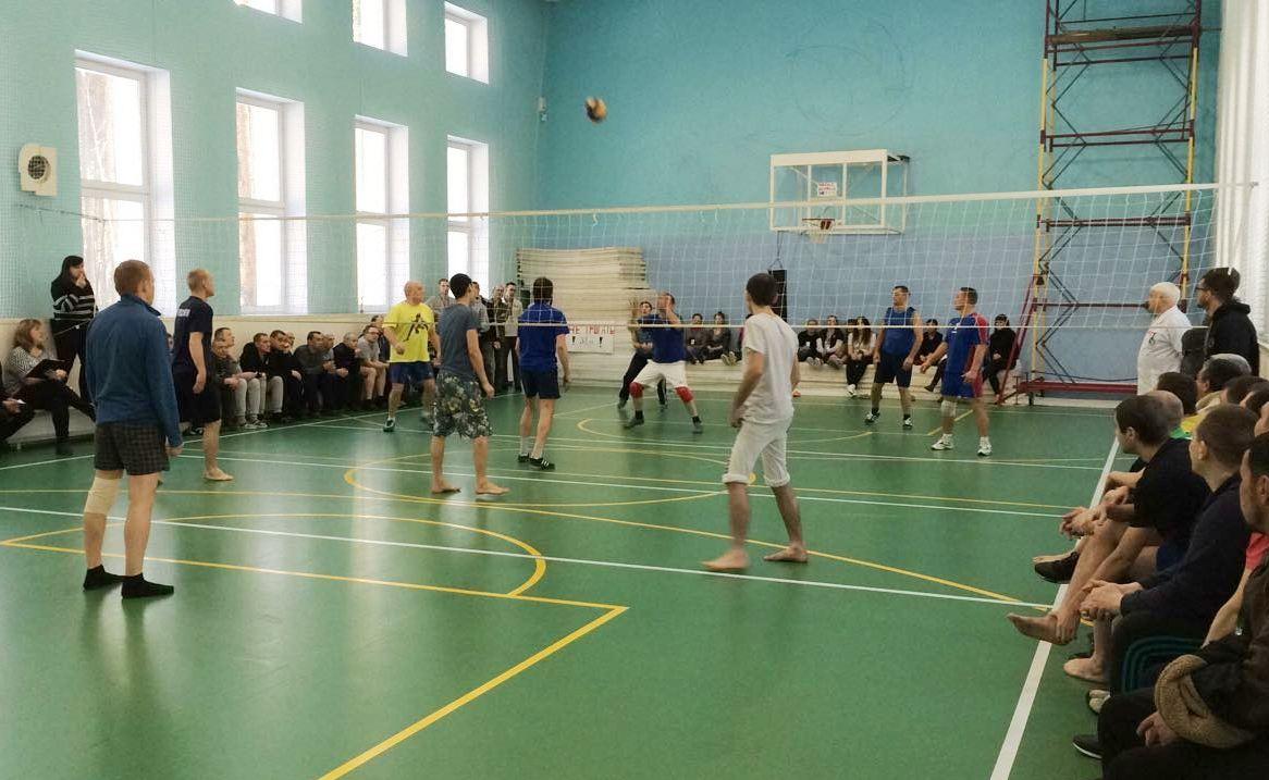 «Урал без наркотиков» провел первый в 2018 году волейбольный турнир